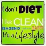 I don't diet