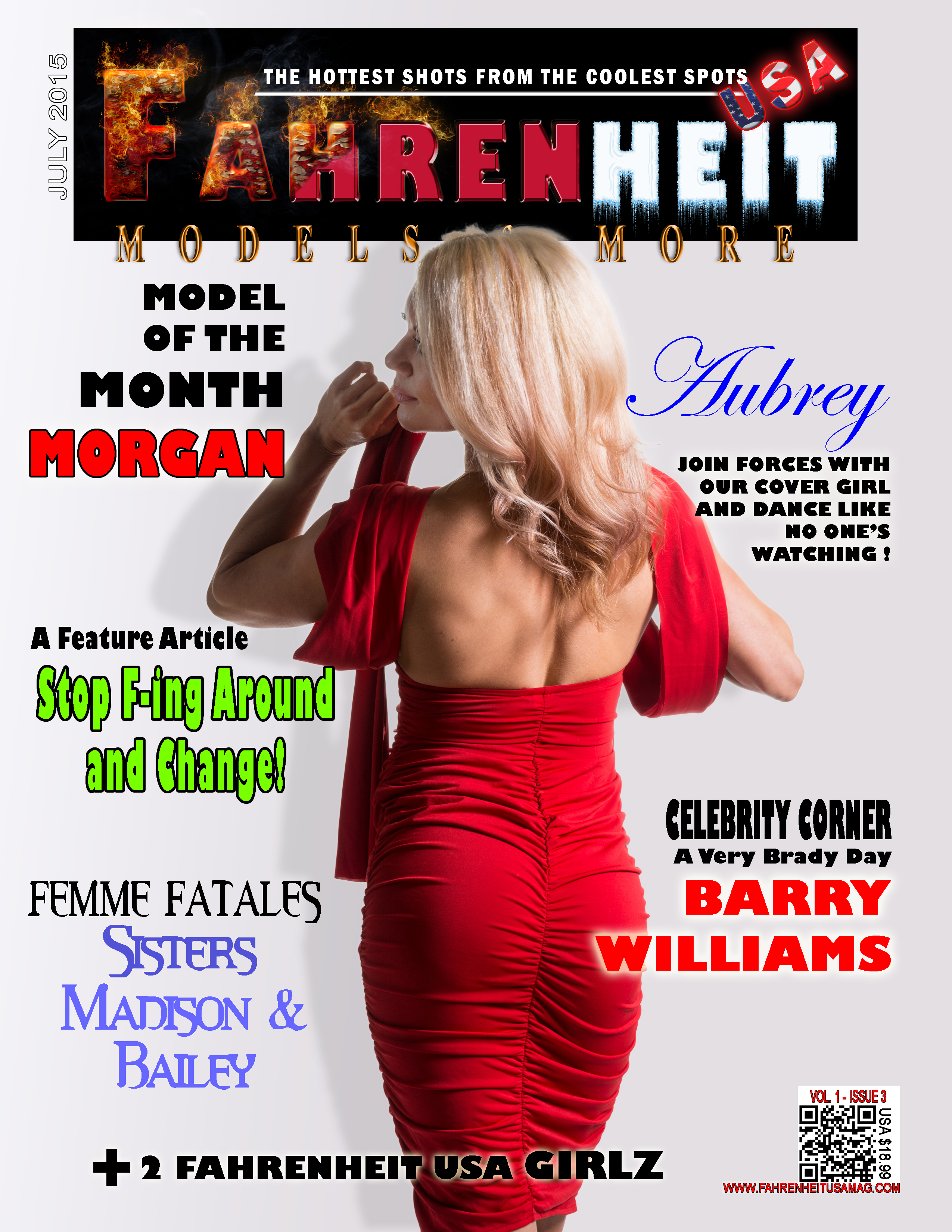 Fahrenheit Cover Girl – July 2015
