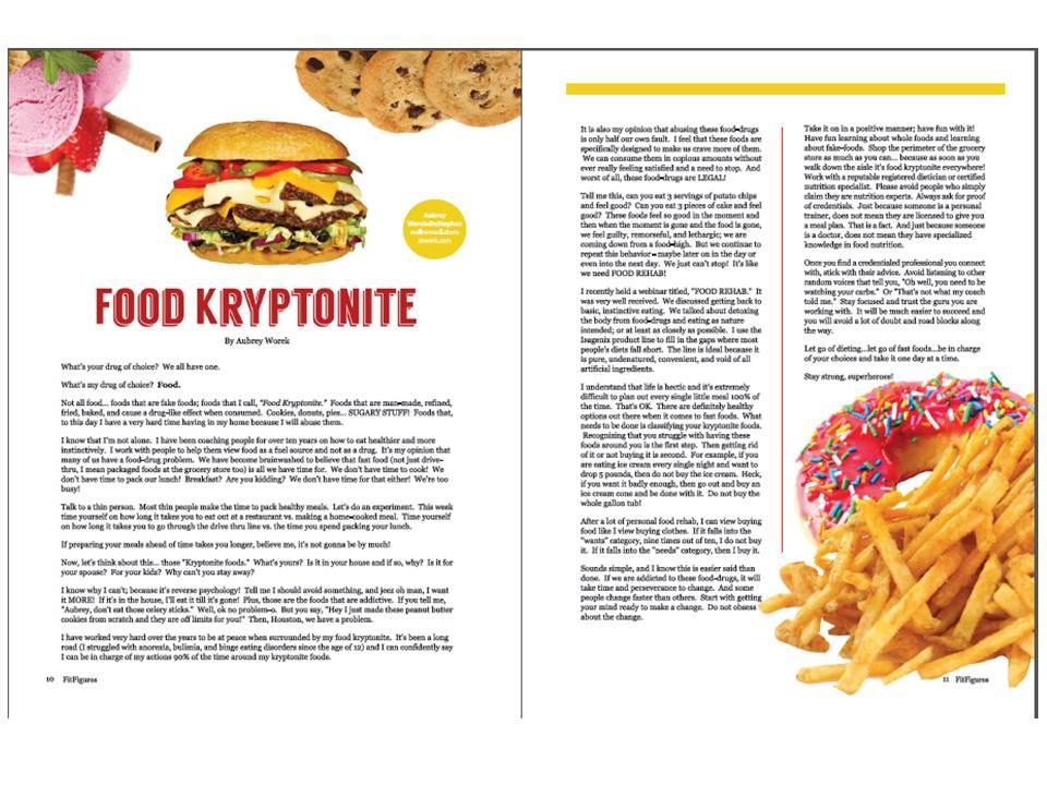 "Fit Figures – ""Food Kryptonite"""