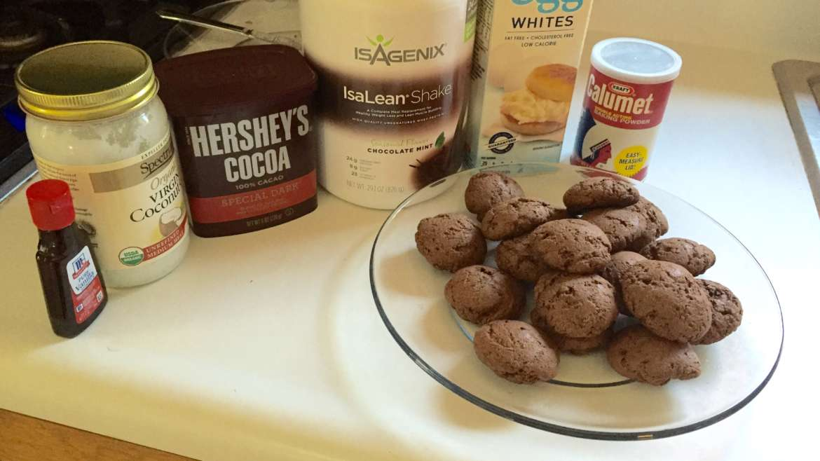 Thin Mint Protein Cookies!