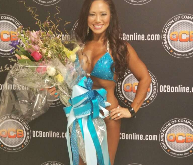 Bikini Pro in First Show! {featured client, Christine Yoder}